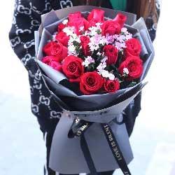 一支属于我的花/19支红色玫瑰
