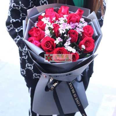 一枝属于我的花/19枝红色玫瑰