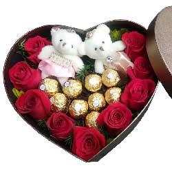 你在我心中是最美/9支红色玫瑰,9支巧克力