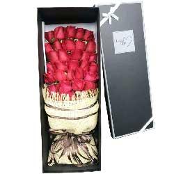 有爱才有滋味/33支红色玫瑰