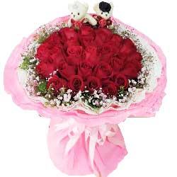 此生最爱是你/33支红色玫瑰