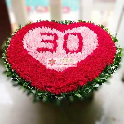 最美爱情/365支玫瑰