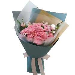 给妈妈的承诺/19支粉色康乃馨