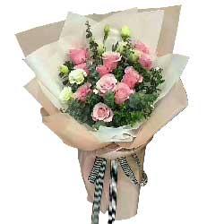 生生世世的爱/11支粉玫瑰