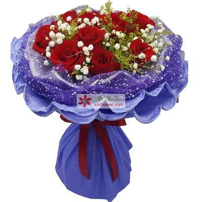 你是我的牵挂/11枝红色玫瑰