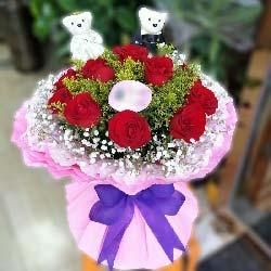 永远的爱恋/11支红色玫瑰
