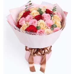 愿陪着你白发苍苍/29支玫瑰