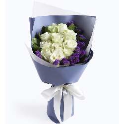 快乐爱情/11支白玫瑰