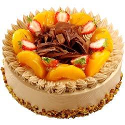 有你真好/圆形水果蛋糕