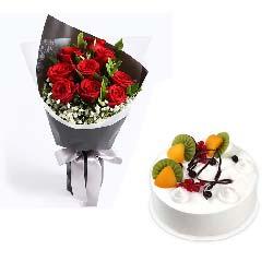 生日快乐/鲜花蛋糕