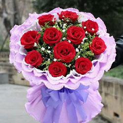 一辈子的幸福/11支红色玫瑰