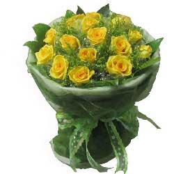 19朵黄玫瑰,夜夜的相思
