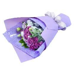 19朵紫玫瑰,幸福快乐