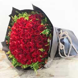 99朵红玫瑰,思念永远牵动着我的心