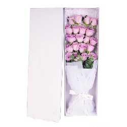 20朵紫玫瑰,一生永不分离