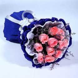 13朵戴安娜玫瑰,感受你的心灵