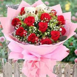 13朵红玫瑰,我在喜欢你