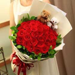33朵红玫瑰,恋人