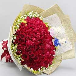 99支红玫瑰/情深似海