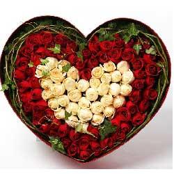 99朵玫瑰,新鲜礼盒,爱相牵一线