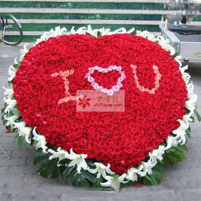 999朵红玫瑰,有你就有爱