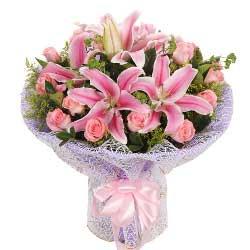18支粉玫瑰,甜蜜约定