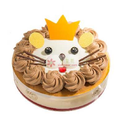 8寸芝士小狮子蛋糕