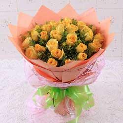30朵黄玫瑰,永恒爱意