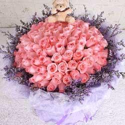 99朵戴安娜玫瑰,我的爱无处不在
