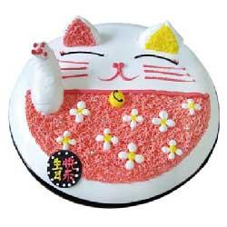 为你庆祝/8寸鲜奶艺术蛋糕