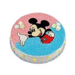 8寸米老鼠蛋糕