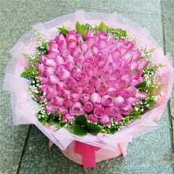 40朵紫玫瑰,恋上你了