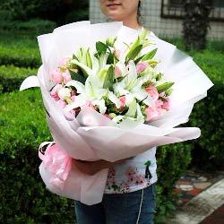 33朵戴安娜粉玫瑰,让你体会到我的爱