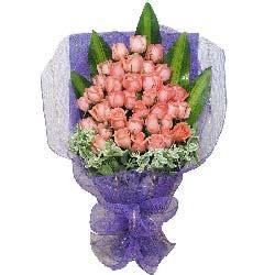 33朵粉玫瑰,相亲相爱一辈子