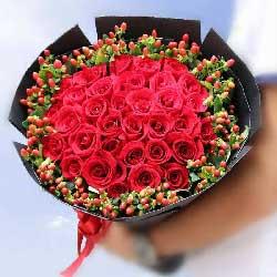 31朵红玫瑰,相亲相爱一辈子