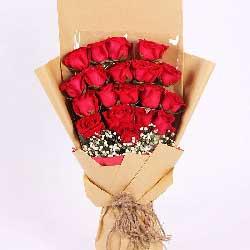 19朵红玫瑰,一生一世的真爱