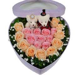 19朵玫瑰,礼盒装,全部的爱都送给你