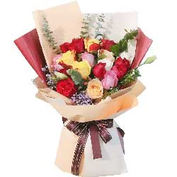 22朵玫瑰,爱的力量