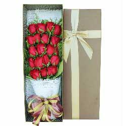 19朵红玫瑰,伴你一生