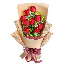 9支玫瑰,简单的爱