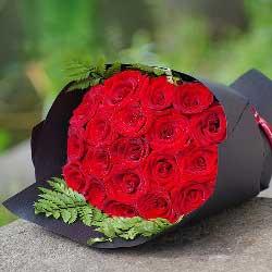 19朵红玫瑰,有你生活甜蜜