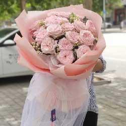 99朵香槟玫瑰,爱你一辈子也不够