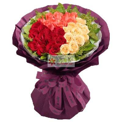 33朵玫瑰,与你厮守