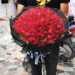99朵红玫瑰,爱恋