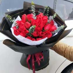 22朵红玫瑰,一生幸福