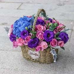 幸福永远对您微笑/21枝玫瑰