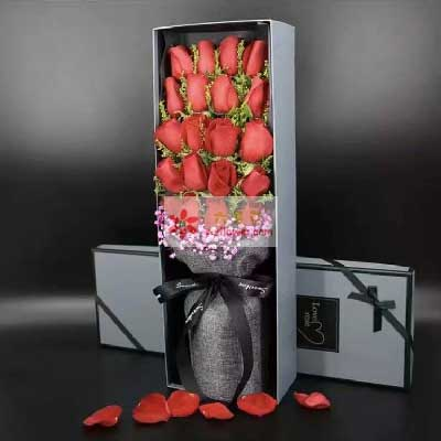 有你一切皆美好/20支红玫瑰礼盒