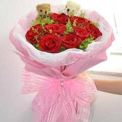 愿和你一生相伴/9支红玫瑰