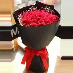对你的牵挂/19枝红色玫瑰