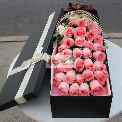 永远属于你的爱/33支戴安娜玫瑰